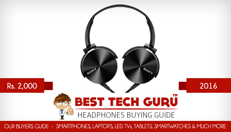 5 Best Headphones under 2000 Rs in India (2016)