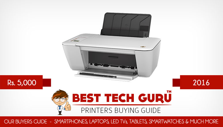 5 Best Printers under 5000 Rs in India (2016)