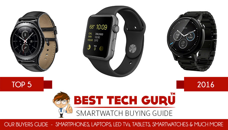 5 Best Smartwatches in India (2016)