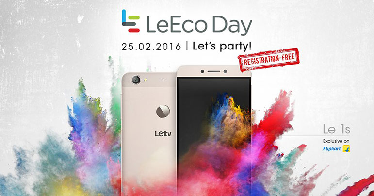 LeEco Le 1s to go on open sale from Feb 25; company to celebrate LeEco day