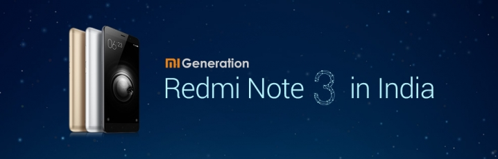 Redmi Note 3 India Launch