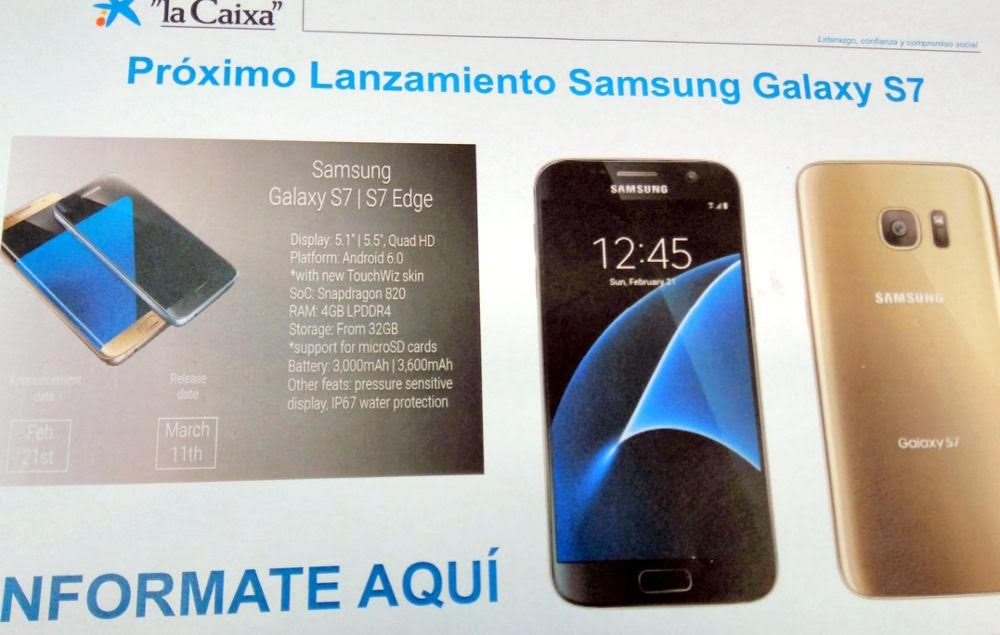Samsung Galaxy S7 Poster Leaked 2