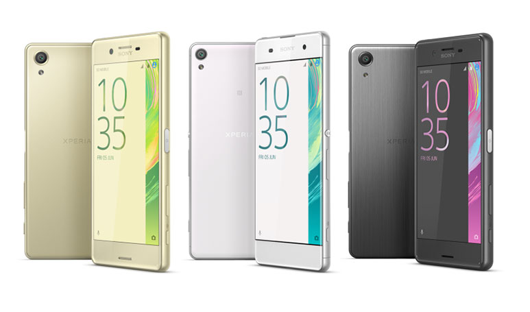 Sony Xperia X, Xperia XA & Xperia X Performance launched at MWC 2016