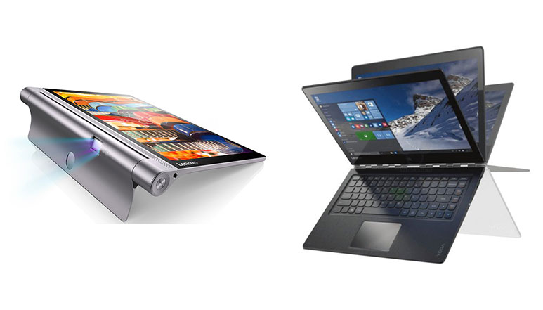 Lenovo Yoga 900 and Yoga Tab 3 Pro