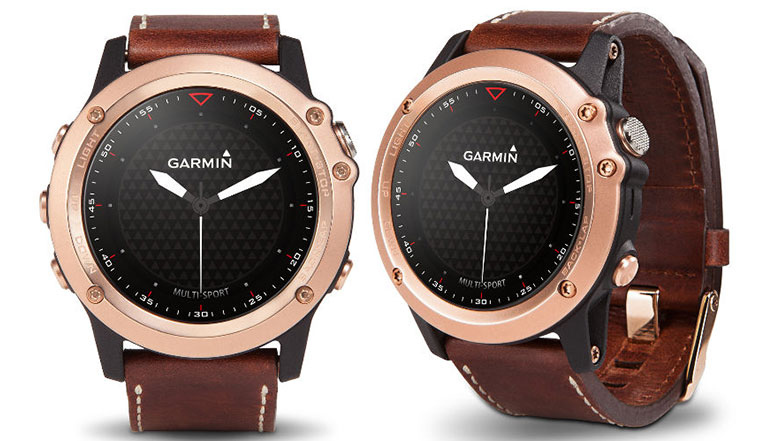 Garmin Fenix 3 Sapphire Rose Gold edition launched at Rs. 84,999