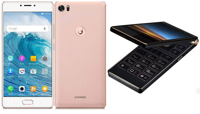 Gionee S8 and Gionee W909 officially launched in China