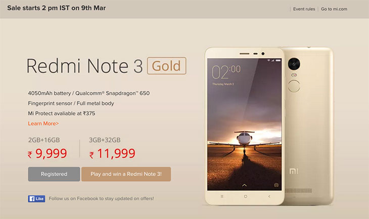 Redmi-Note-3-Pricing