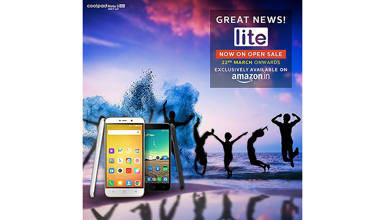 Coolpad Note 3 Lite open sale