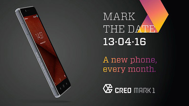 CREO Mark 1 with custom Android-based OS to launch on April 13