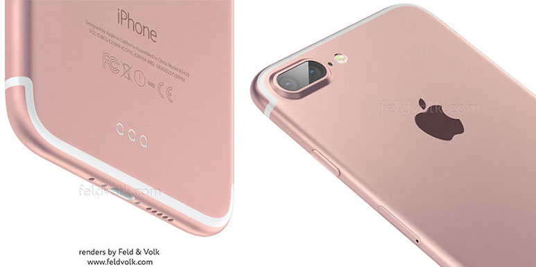 iPhone 7 Pro new images leaked; reveals dual camera setup, no Home Button & 3.5mm jack