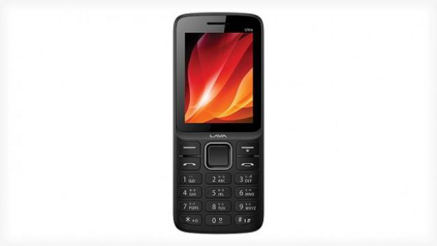 Lava KKT Ultra+ Union feature phone launched at Rs. 1,500