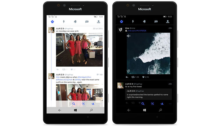 Windows 10 Twitter app