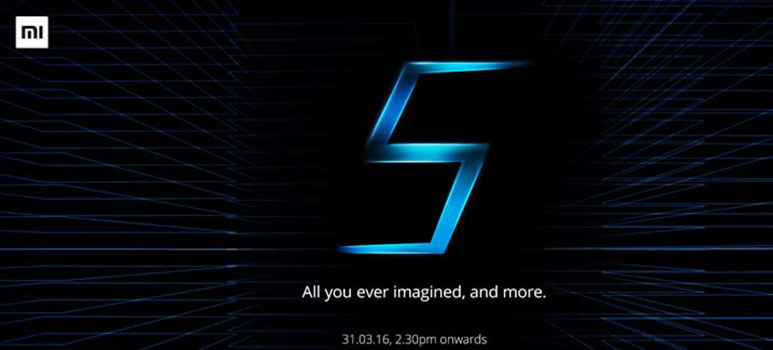 Xiaomi Mi 5 to launch in India on March 31st
