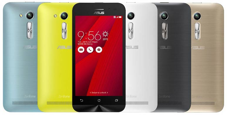 Asus ZenFone Go 4.5 with Snapdragon 200 SoC and 1GB RAM launched