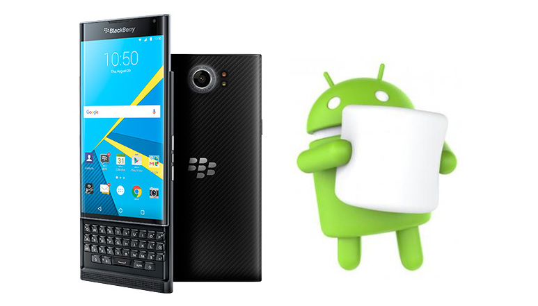 Blackberry starts rolling out Android 6.0 Marshmallow update for Priv