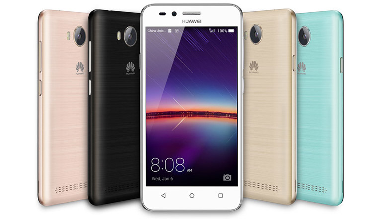 Huawei Y5 II and Y3 II budget smartphones with Android 5.1 officially listed