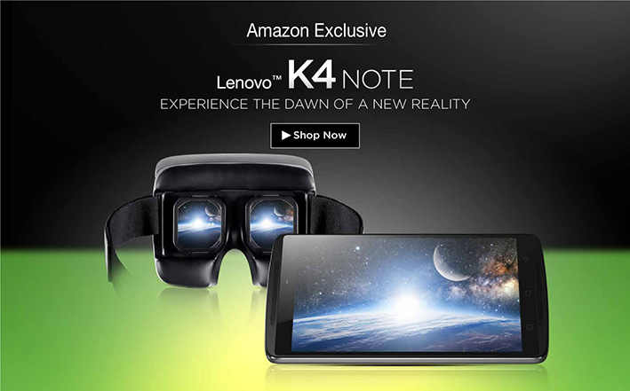 Lenovo K4 Note 5 lakh units sold; to be available with ANT VR again at Rs. 12,499 on April 29