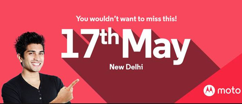 Motorola schedules an event for May 17; Moto G4 and G4 Plus launch expected