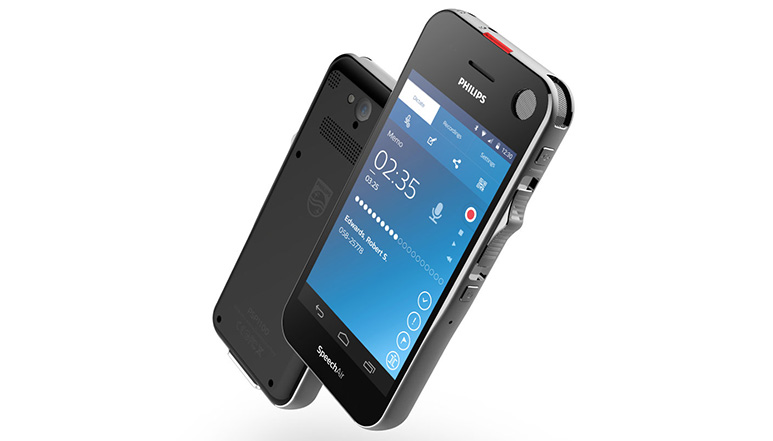 Philips SpeechAir voice recorder with 4-inch display and Android OS launched