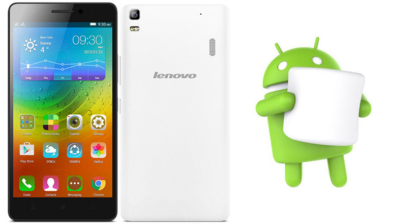 Lenovo A7000 starts getting Android 6.0 Marshmallow Update in India