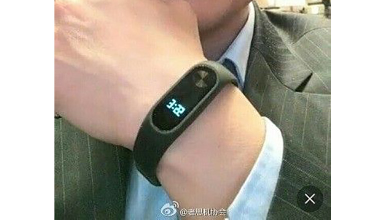 Xiaomi Mi Band 2 with LCD screen leaked; expected to launch on May 10