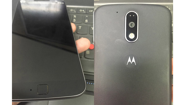Moto G4 leaked in live photos; hints at fingerprint sensor and new rear design