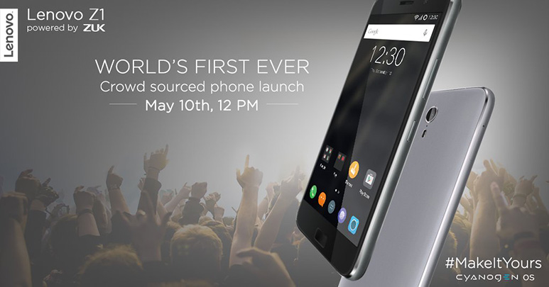 Lenovo Zuk Z1 with Snapdragon 801, 4100 mAh battery to launch on May 10 in India