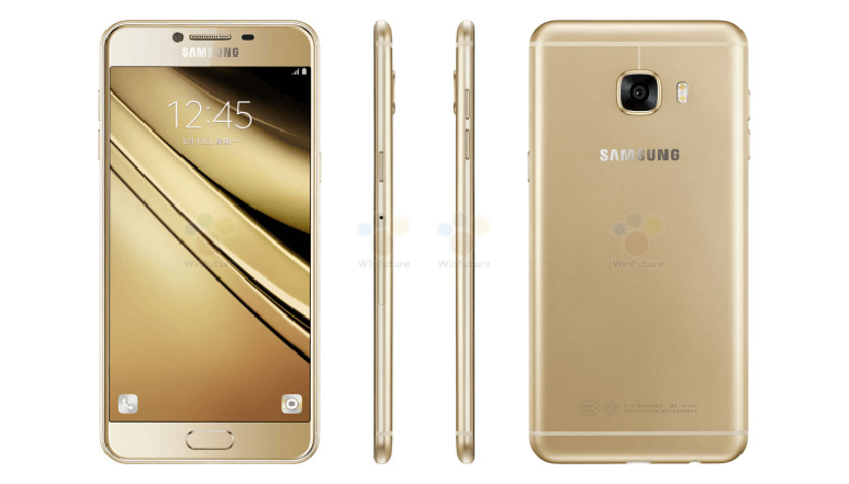 Samsung Galaxy C5 leaked in press renders ahead of its launch tomorrow