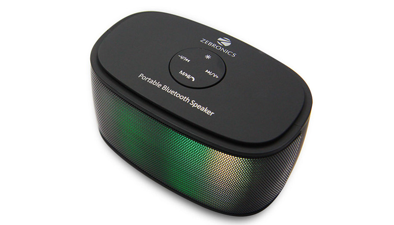 Zebronics Galaxy Bluetooth speaker launched at Rs. 1,111
