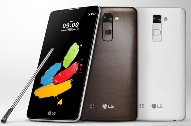 LG Stylus 2 with Android 6.0 listed on company's website for Rs. 20,500