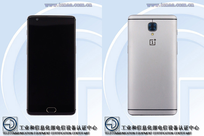 OnePlus 3 spotted on Tenaa, expected to launch on 14th June