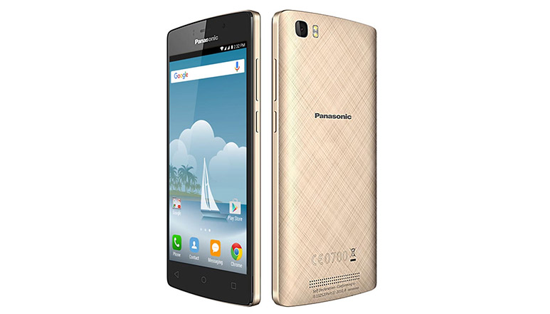 Panasonic P75 with 8MP rear camera and 5000mAh battery launched at Rs. 5,990