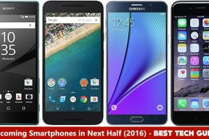 Upcoming Smartphones in next half of 2016