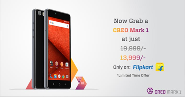 CREO Mark 1 gets a price cut of Rs. 6,000, now available for Rs. 13,999