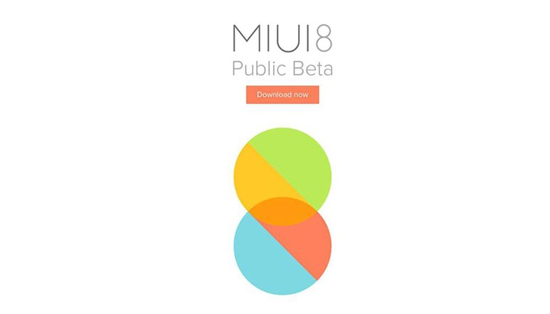 Xiaomi's MIUI 8 Global Beta ROM is now available for download