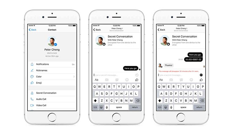 Facebook Messenger gets end-to-end encryption with secret conversations