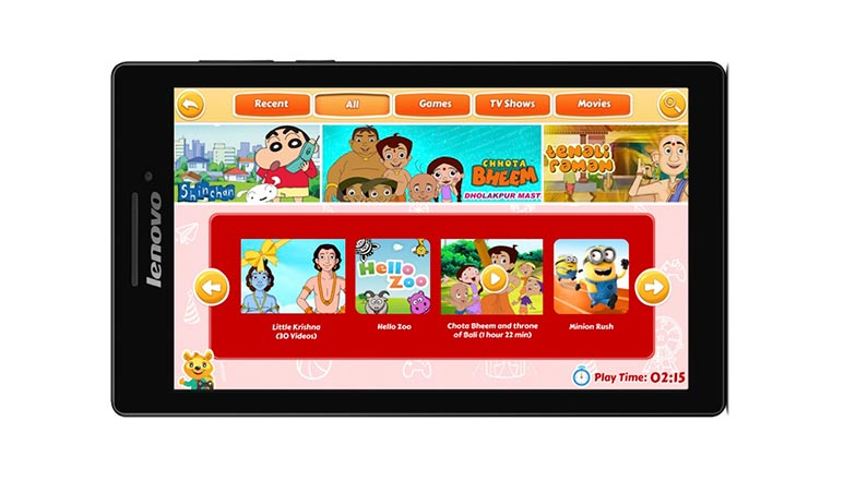 Lenovo CG Slate tablet for kids launched at Rs. 8,499