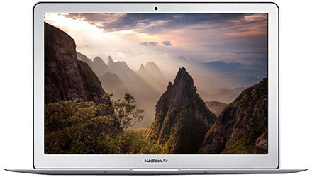 Apple MacBook Air MJVE2HNA - best laptops under 60000