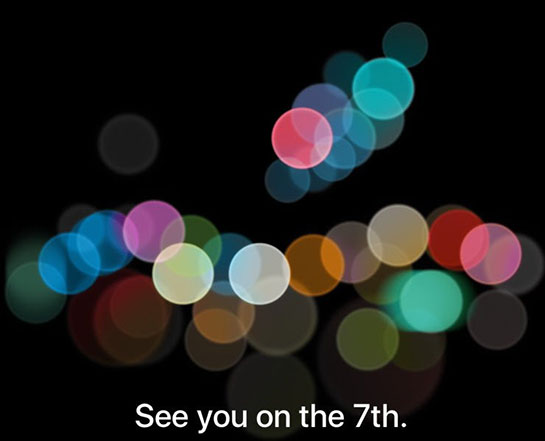 Apple schedules an event on September 7th; iPhone 7 and Watch 2 launch expected