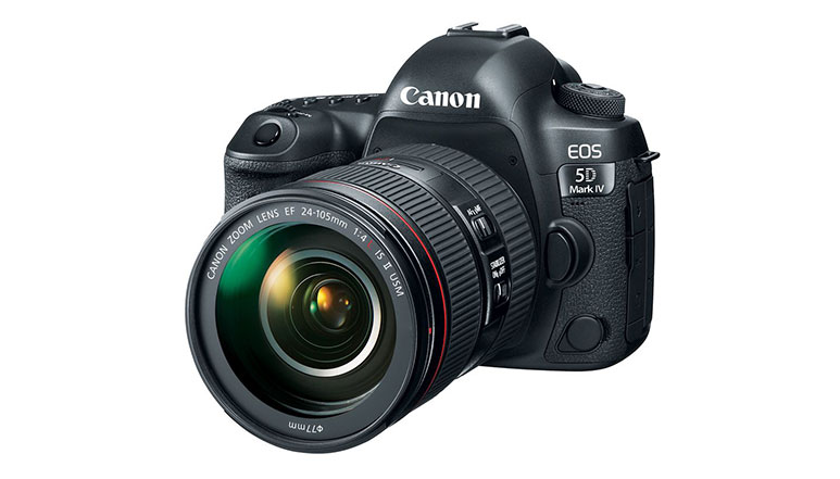 Canon EOS 5D Mark IV with 4K video recording and built-in WiFi support launched at Rs. 2,54,995