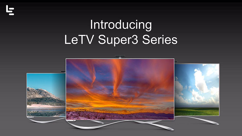 LeEco Super 3 series TVs launched in India, prices start from Rs. 59,790