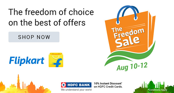 Flipkart Freedom Sale starts today: Best Deals and Offers on Gadgets