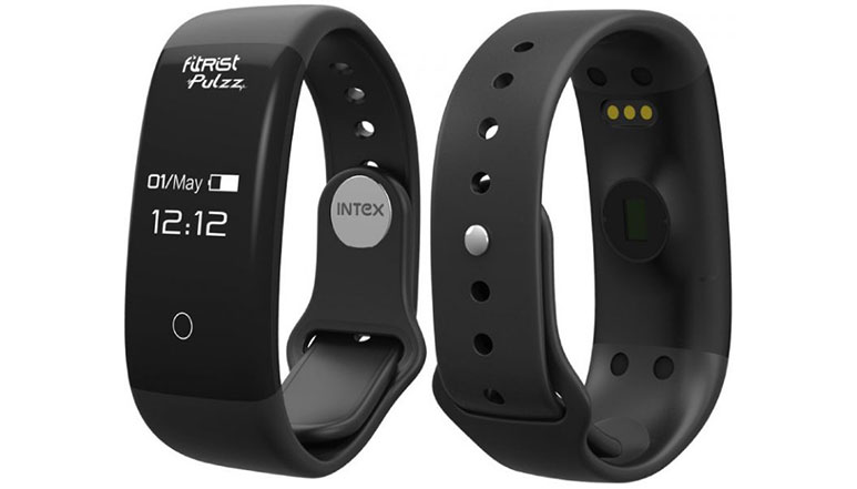 Intex launches FitRist Pulzz Fitness Band with OLED display at Rs. 1,799