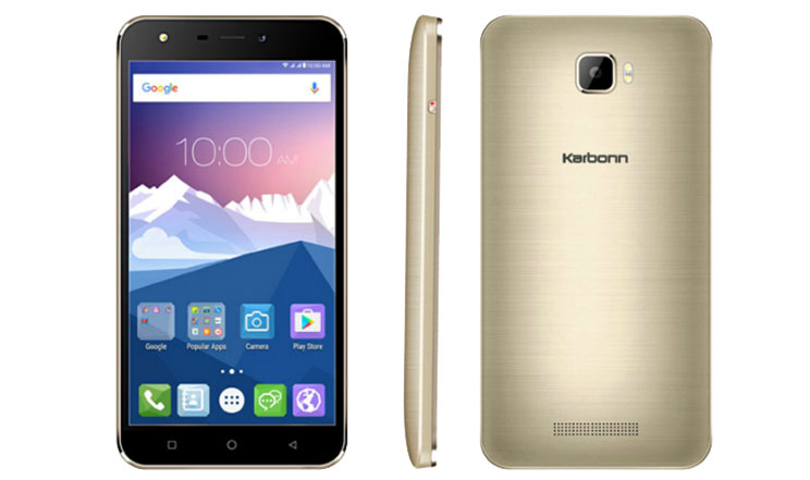 Karbonn K9 Viraat with 5.5-inch HD display and Android 6.0 launched at Rs. 5,990