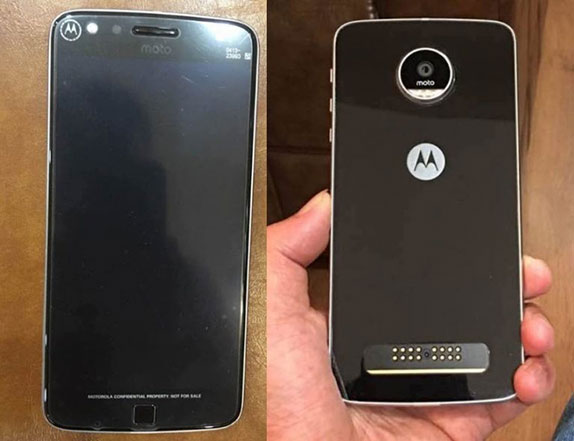 Moto Z Play leaked
