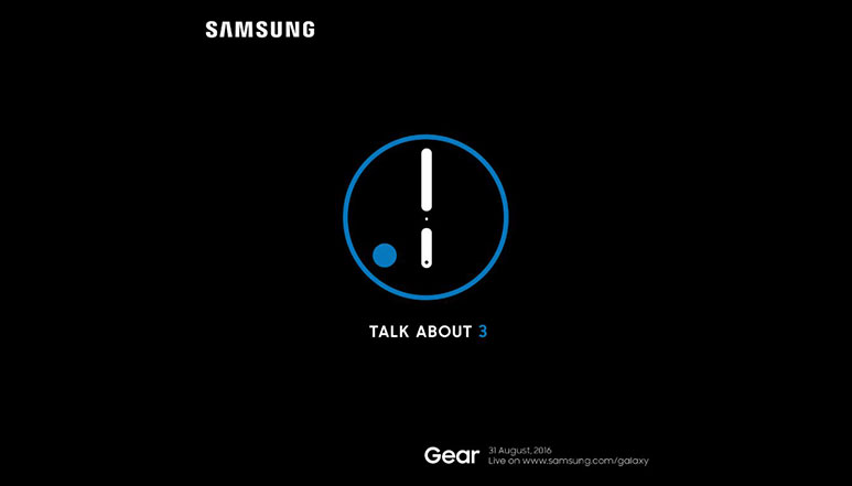 Samsung Gear S3 smartwatch to launch on August 31st