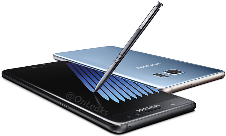 Galaxy Note 7 leaked