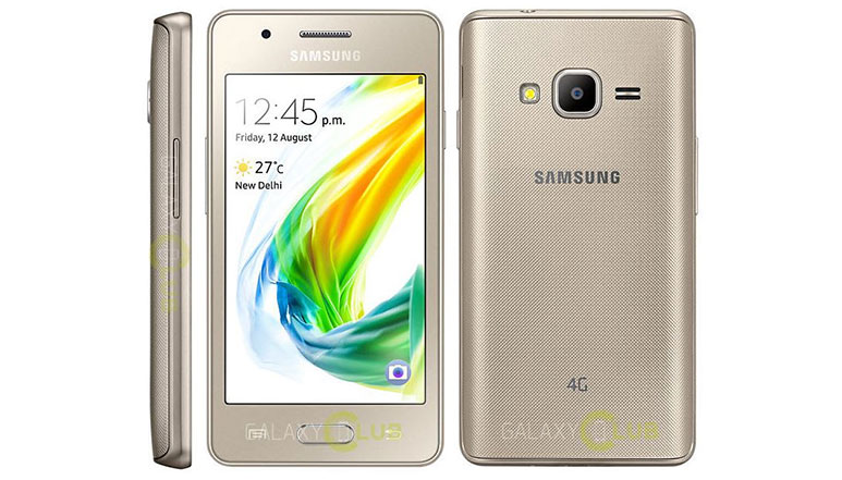 Samsung Z2 leaked in press renders ahead of its tomorrow launch