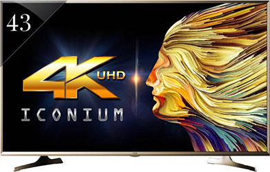 Vu 43S6535 (43) 4K Smart LED TV - best LED TV under 40000 - Best Tech Guru