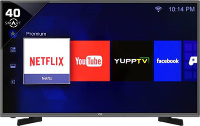 Vu H40K311 (40) Full HD Smart LED TV - best LED TV under 30000 - Best Tech Guru